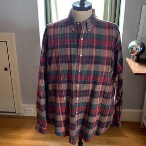 Classic plaid Polo Ralph Lauren button down shirt